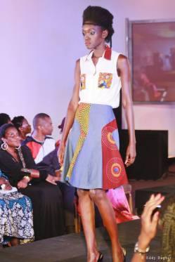 Yalerri au Top10 de la mode ivoirienne